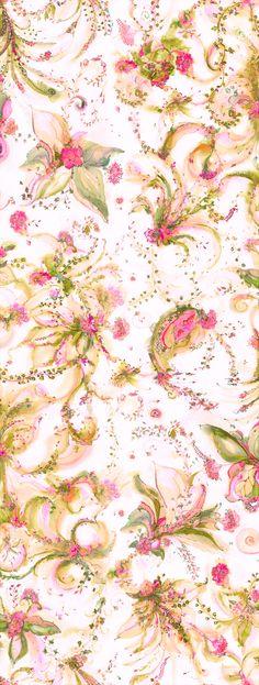 Garden Ribbon Cloth