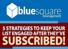 Email Marketing Strategy, Increase Sales, Your Email, Email List, Management, Blue Square, Small Businesses, Infographics, Tips
