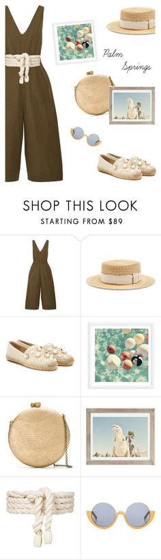 """Palm Springs Travel Outfit"" by ivka-detektivka ❤ liked on Polyvore featuring Ulla Johnson, Filù Hats, Tory Burch, Serpui, Urban Outfitters, Lilly Sarti, Marni, california, palmsprings and outfitsfortravel"