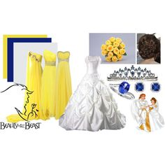 """Beauty and the Beast Wedding"" by neverland-ballerina on Polyvore"
