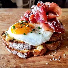Croque madame anyone? Photo courtesy of dennistheprescott on Instagram.
