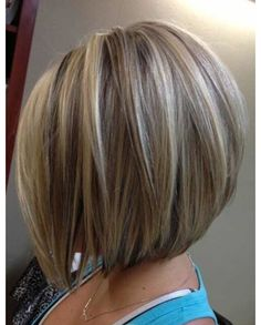 Medium length angled bob hairstyles – Hairstyle for women & man - Best Frisuren Inverted Bob Hairstyles, Bob Hairstyles For Fine Hair, Short Bob Haircuts, Short Stacked Haircuts, Goth Hairstyles, Longer Bob Hairstyles, Bobbed Haircuts, Stacked Hairstyles, Short Stacked Bobs