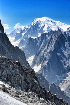View of Mont Blanc from Aiguille du Argentiere by Sam Hudd - telegraph.co.uk