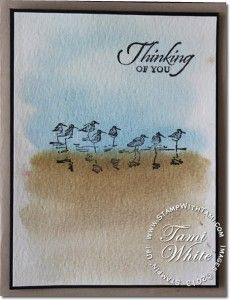 card by Tami White... includes tutorial for easy color wash  technique