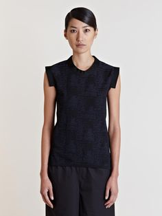 Piece D'anarchive Women's Sleeveless Knit Pullover | LN-CC