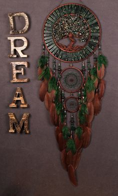 Green Dream Catcher Tree of life jasper Dreamcatcher New Dream сatcher mosaic dreamcatchers wall decor handmade unique gift Valentines Day Weight of jasper in making a tree 10.93 oz This amulet like Dreamcatcher - is not just a decoration of the interior. It is a powerful