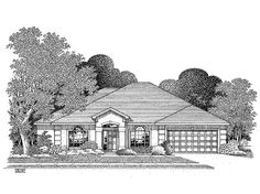 New American House Plan with 2601 Square Feet and 4 Bedrooms from Dream Home Source | House Plan Code DHSW28576