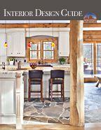 Interior Design & Décor for Log Homes, Hybrid Log Homes, Luxury Log Homes, Log Cabins & Timber-Frame Homes - Wisconsin Log Homes