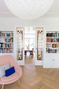 Interior french doors add a beautiful style and elegance to any room in your home. Interior Sliding Barn Doors, Sliding Doors, Entry Doors, Patio Doors, Motif Art Deco, Interior Design Elements, Home Living Room, Innovation Design, French Doors