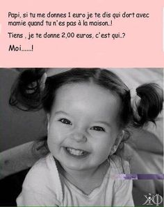 Papy, si tu me donne 1 euro je te dis qui dort avec mamie - Haus Euro, Funny Stories, True Stories, Best Quotes, Funny Quotes, Cute Captions, English Jokes, Thug Life, Tumblr Funny