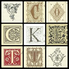 British Library offers over 1 million free vintage images for download. Hence. My name in fabulous typography. 2015.
