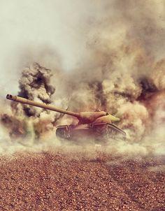 22.00$  Buy here - http://aliku3.shopchina.info/go.php?t=32804543398 - Hot sale Tank in Smoke billowing battleground vinyl photography backdrop for portrait photo studio photography background S-2486  #aliexpresschina