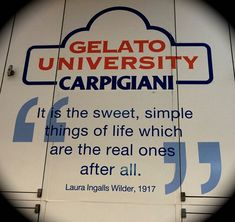 Becoming Certified Gelato Experts at the Gelato University by Venturists Love And Gelato, Foodie Quotes, Career Choices, Real One, Education Quotes, Me Quotes, About Me Blog, University, Sayings