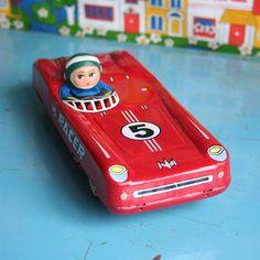 vintage tinplate toy