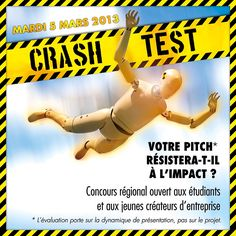 Crash Test 2013 - Pitch & Entrepreneuriat
