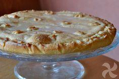 Tarta de chocolate blanco (crostata) - http://www.thermorecetas.com/tarta-de-chocolate-blanco-crostata/