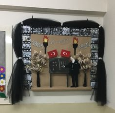 Atatürk haftası Painting Lessons, Art Lessons, Class Bulletin Boards, Diy And Crafts, Crafts For Kids, Class Decoration, Useful Life Hacks, Early Childhood Education, Kids And Parenting