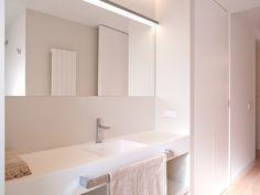 Una casa extra luminosa y ultra moderna #loftTRES #lavabo #TRESGriferia #spain