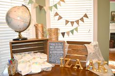 """Words for the Wee Hours"" - have guests write messages on diapers for a giggle during those late night changes!"