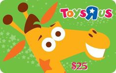 ToysRUs Gift Card Giveaway