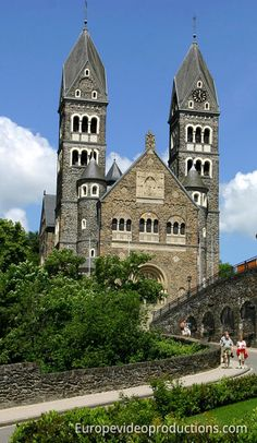 Clervaux: Church of Saints Cosma and Damien The Town of Clervaux is located in the north of Grand Duchy of Luxembourg.