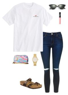 """""""New taglist in D!!!!!"""" by oliviacat1215 ❤ liked on Polyvore featuring Topshop, Vineyard Vines, Ray-Ban, NARS Cosmetics, Lilly Pulitzer and Kate Spade"""