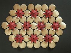 Hexagonal celtic quilt, opus XVII by Mélisande*, via Flickr