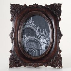 One of my favorite discoveries at WorldMarket.com: English Oak Estella Frame