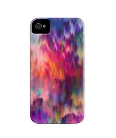 """""""Sunset Storm"""" iPhone Case by Amy Sia for Society 6"""