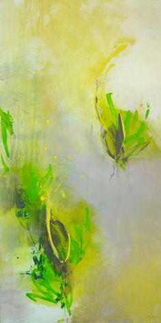 Nature, Acrylic on Canvas // by Lydia Luczay