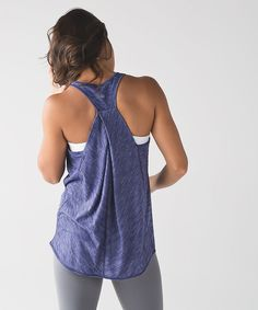 From lululemon. Love all the colors - especially this one. Not sure on size.