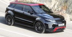 Updated 2017 Range Rover Evoque Gains More Tech And New Ember Limited Edition #Land_Rover #New_Cars