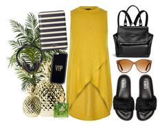 """urban summer"" by sonitsa ❤ liked on Polyvore featuring Nearly Natural, River Island, Puma, Givenchy, Shwood, Kate Spade, Casetify and Bloc & Roc"