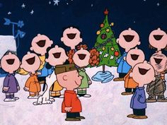 Charlie Brown Christmas choir