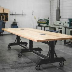 Conference Table Meeting Room Table Co-Working by JRealFurniture