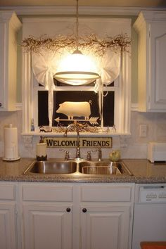 Look identical to my kitchen..   Budget French Country Decorating | Budget French Country Decorating | Our kitchen on a budget, This ...