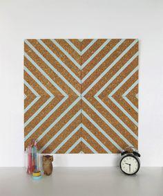 washi tape cork board.