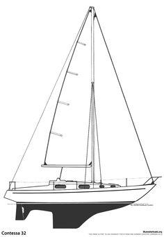 The Contessa 32 Sailboat