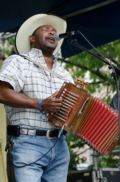 Jeffrey Broussard & the Creole Cowboys by New Orleans Jazz & Heritage Foundation, via Flickr