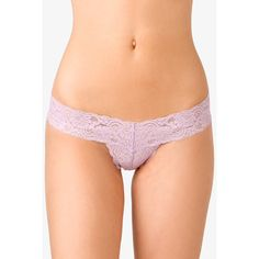 FOREVER 21 Lace Thong (3.88 AUD) ❤ liked on Polyvore featuring intimates, panties, body, random, ropa interior, underwear, forever 21, lace thong, lacy thong and forever 21 thongs