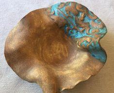 Hand made ceramic bowl, hand made clay plate, hand made pottery dish - Ceramic Hand Built Pottery, Slab Pottery, Pottery Bowls, Ceramic Pottery, Pottery Art, Pottery Ideas, Pottery Wheel, Stoneware Clay, Ceramic Bowls
