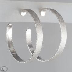 Sterling Silver Hoops, Silver Hoop Earrings, Thing 1, Etsy Shop, Bracelets, Jewelry, Jewlery, Jewerly, Schmuck