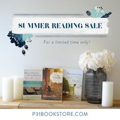 Our top picks for your summer reading list are now on sale! Take Every Thought Captive, Proverbs 31 Ministries, Lysa Terkeurst, Summer Reading Lists, Feeling Hopeless, Praise God, Holy Spirit, Faith, Shit Happens