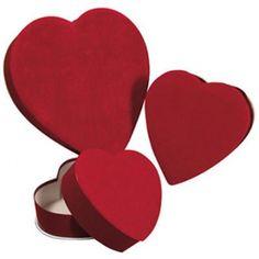 heart-shaped box, red 4oz