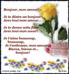 28 Meilleures Images Du Tableau Bonjour Mon Coeur Bonjour