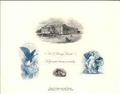 B256 BEP Souvenir Card 2001 Savings Bond Treasury Dept Eagle Liberty Intaglio