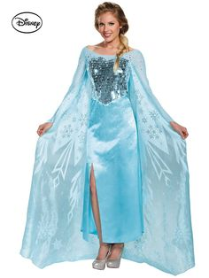 a520b117374a4b Show up to a Halloween party dressed in this Women's Disney's Frozen Elsa  Ultra Prestige Costume and you can be sure you'll be the prettiest Princess  in the ...