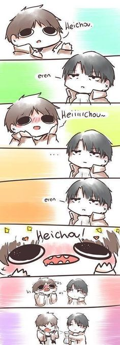 Eren x Levi - SNK-- I know I've already pinned this, but I will never not ^_^