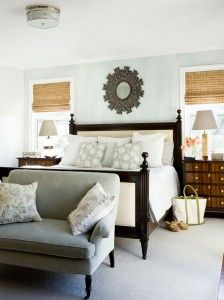 Interior Design Images For Bedrooms Captivating Fanct Style Bedroom Interior With White Bed Idea And Black Couch Design Inspiration