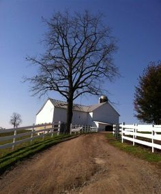 Amish barn in New Wilmington, Pennsylvania